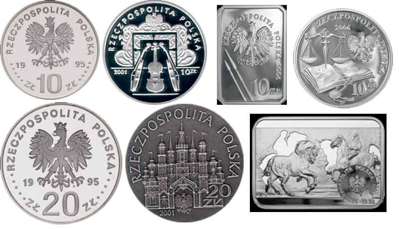 Skup monet kolekcjonerskich Warszawa